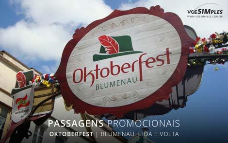 Passagem aérea para o Oktoberfest