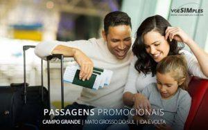 Passagem aérea para Campo Grande