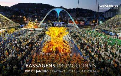 Passagem aérea Carnaval 2017