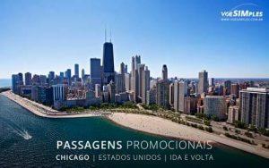 Passagem aérea para Chicago