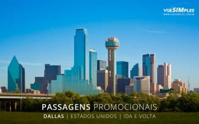 Passagem aérea para Dallas
