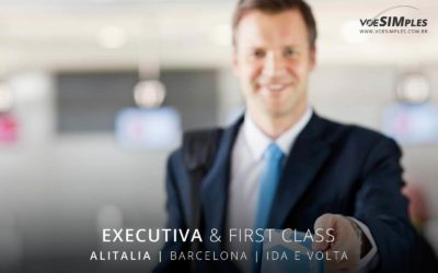 Passagem aérea Executiva Alitalia para Barcelona