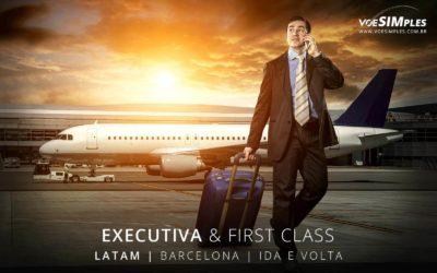Passagem aérea Executiva Latam