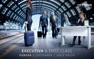 Passagem aérea executiva Lufthansa