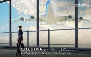 Passagem aérea Executiva Alitalia