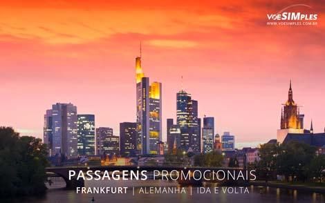 Passagem aérea para Frankfurt