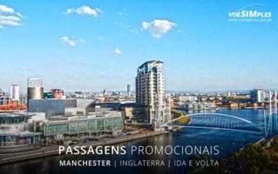 Passagem aérea para Manchester