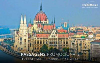 Passagem aérea para a Europa