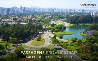 Passagem aérea para São Paulo