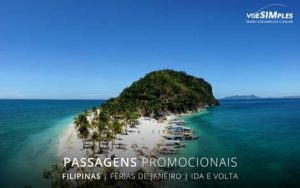 Passagens aéreas fim de semana de férias de janeiro para Filipinas