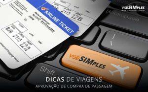aprovação de compra de passagem aérea