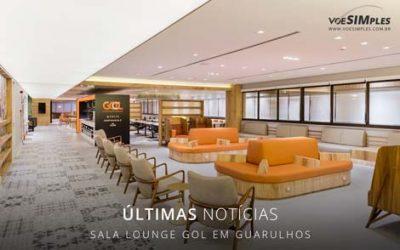 Sala vip no aeroporto de Guarulhos