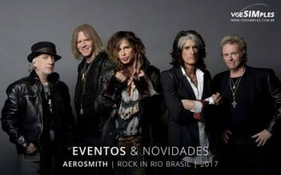 Aerosmith está confirmado no Rock in Rio