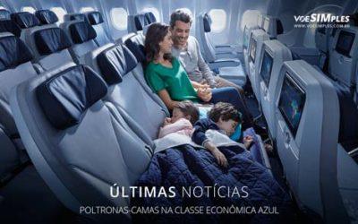 Classe econômica Azul