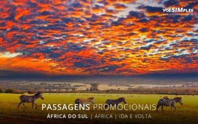 Passagem aérea para a África do Sul