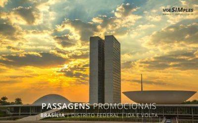 Passagem aérea para Brasília