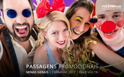 Passagem aérea barata para Carnaval 2017