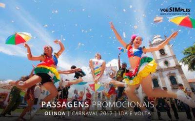Passagens aéreas fim de semana Carnaval 2017