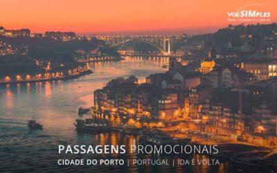 Passagem aérea para a Cidade do Porto