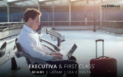Passagem aérea executiva para Miami