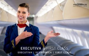 Diferenças entre classes de avião