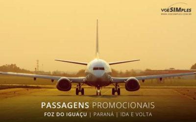 Passagem aérea para Foz do Iguaçu