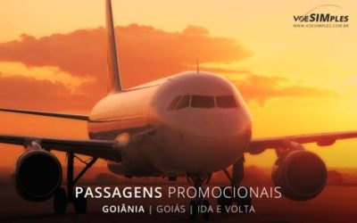 Passagem aérea para Goiânia