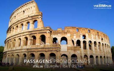 Passagem aérea para Itália
