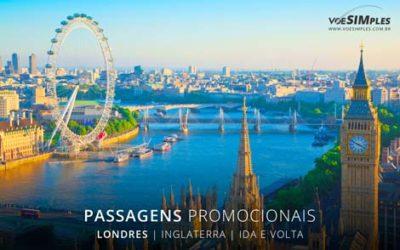 Passagem aérea para Londres
