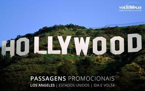 Passagem aérea para Los Angeles