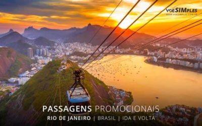 Passagem aérea para o Rio de Janeiro
