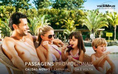 Passagem aérea para lugares sossegados no Carnaval 2017