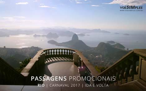Passagens aéreas para quem viaja na net no Carnaval 2017
