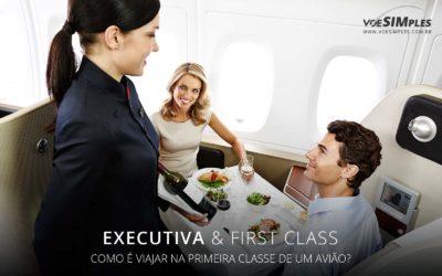 viajar na primeira classe