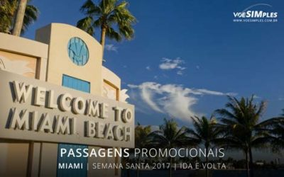 Passagens aéreas em promoções para semana da paixão