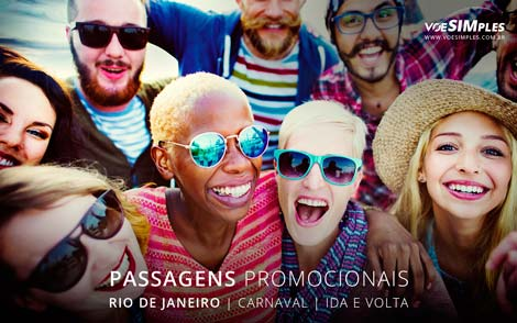 Oferta especial de passagem aérea Carnaval 2017