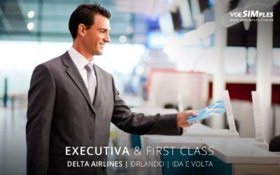 Passagem aérea executiva Delta Airlines para Orlando