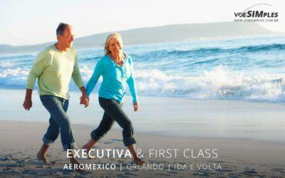 Passagem aérea executiva Aeromexico para Orlando