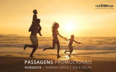 Passagem aérea para viajar com a família na semana santa 2017 para o Nordeste