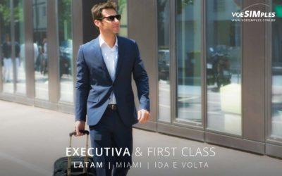 Passagem aérea Classe Executiva Miami