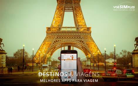 melhores aplicativos para viagem
