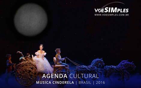 Musical Cinderela no Brasil
