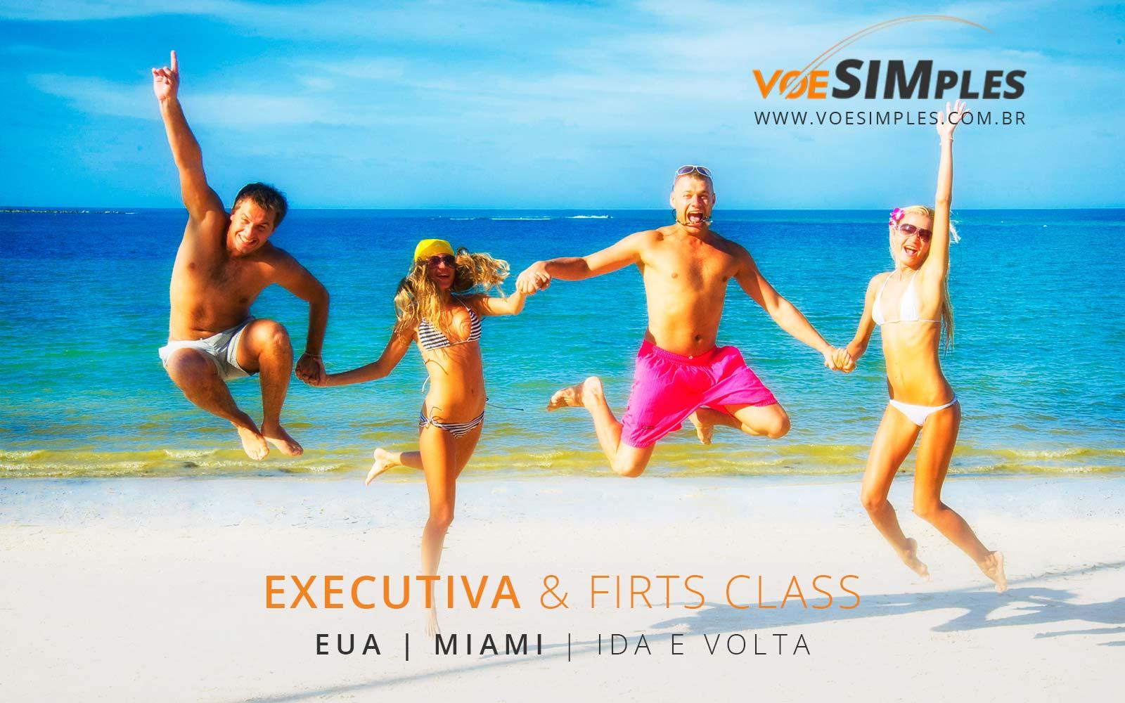 Passagens promo na Classe Executiva para Miami