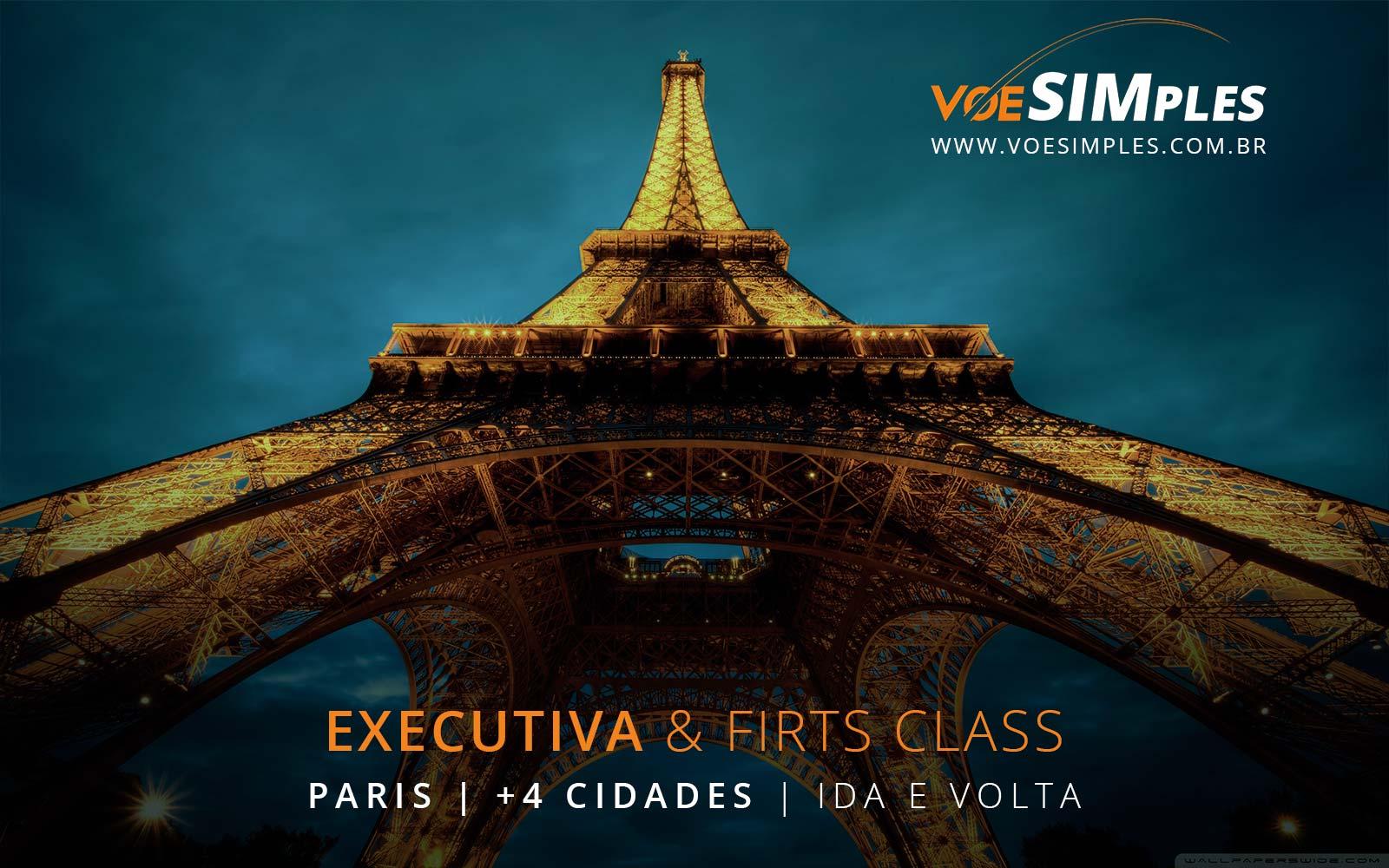 Passagens aéreas em Classe Executiva para Barcelona, Paris, Frankfurt, Madri e Milão na Europa