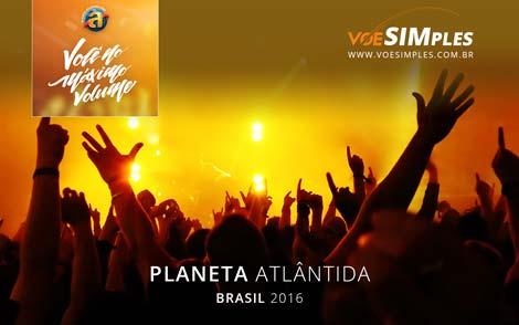 Festival Planeta Atlântida 2016 no Brasil