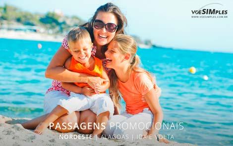 Passagem aérea promocional para Alagoas