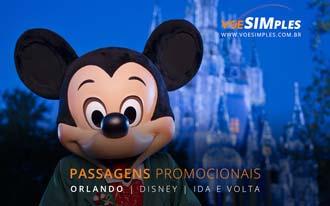 Passagens promo para Orlando