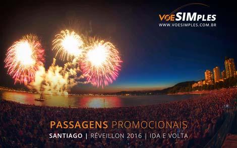 Passagem aérea promocional de São Paulo para Santiago Réveillon 2016