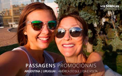 passagens aéreas promocionais para América do Sul