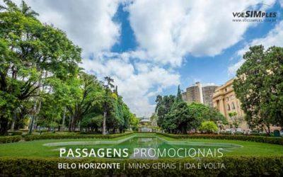 Passagens aéreas promocionais para Belo Horizonte